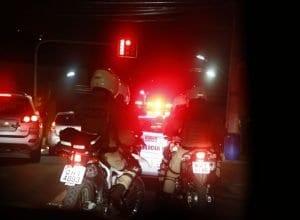 Rocam da Polícia Militar durante operação - foto de Giovanni Silva