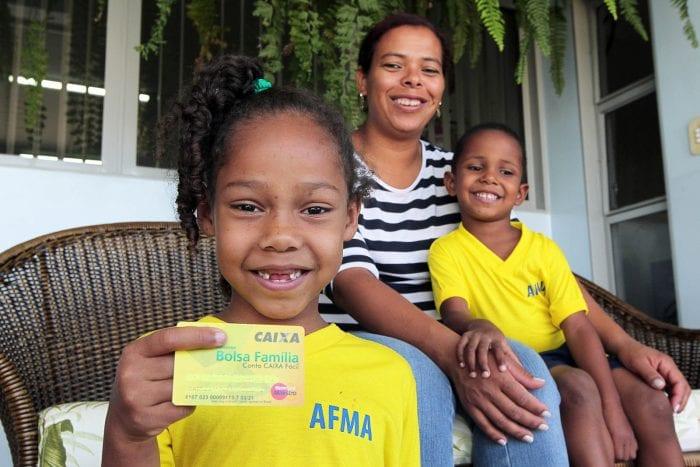 Beneficiária do Bolsa Família - foto de Ana Nascimento/MDS