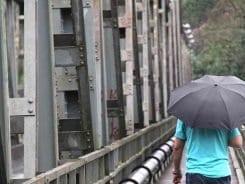 Tempo chuvoso em Blumenau - foto de Marcelo Martins