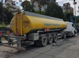 Combustível para o transporte coletivo chegou nesta terça-feira (Jaime Batista)