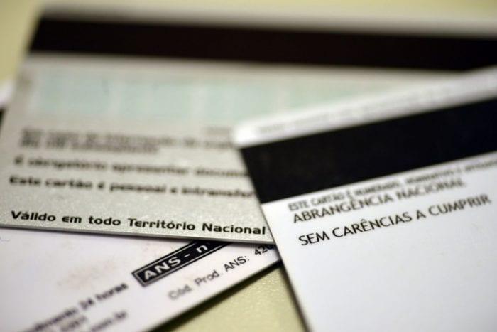 Cartão de plano de saúde (Arquivo/Agência Brasil)