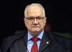 Ministro Edson Fachin decidiu enviar processo pedido de liberdade feito pela defesa do ex-presidente Luiz Inácio Lula da Silva para julgamento no plenário da Corte (Nelson Jr./SCO/STF)
