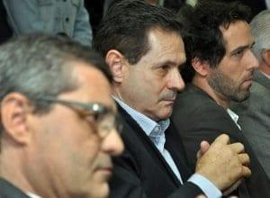 Marco Antônio Bramorski, Carlos Olímpio Menestrina, e Rafael Jansen (Eraldo Schnaider - PMB)