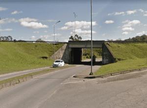 Túnel fica fechado de quarta a sexta-feira (Google Maps)
