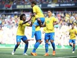 Com gols de Neymar e Firmino, Seleção Brasileira derrota a Croácia (Lucas Figueiredo)