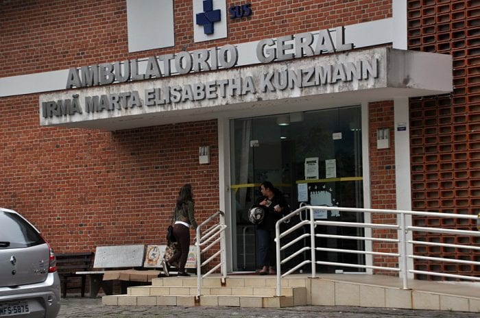 Ambulatório Irmã Marta Elisabetha Kunzmann (Eraldo Schnaider - PMB)