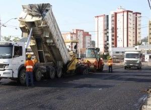 Rua Humberto de Campos ganhará mais pistas, ampliando a capacidade viária (Marcelo Martins - PMB)