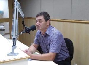 Marcos Inácio Ruediger em entrevista (Rádio Nereu Ramos)