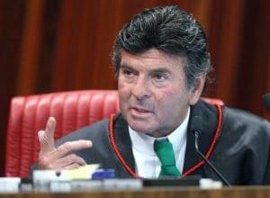 Ministro Luiz Fux, durante sessão plenária do TSE (Roberto Jayme/Ascom/TSE)