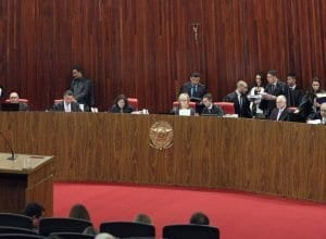 Sessão extraordinária do Tribunal Superior Eleitoral