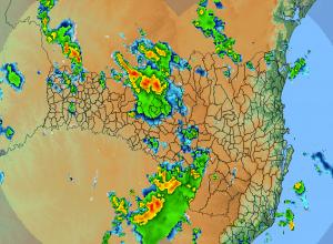 Chuvas fortes atingem Santa Catarina nesta manhã