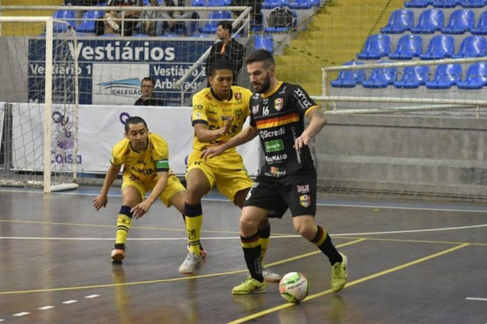 Blumenau Futsal empata com Jaraguá (Sidnei Batista/Blumenau Futsal)