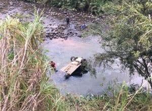 Duas de cinco vítimas não sobreviveram (Corpo de Bombeiros)