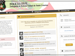 Delegacia Virtual de Santa Catarina