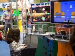 Exposição Super Games no Neumarkt Shopping