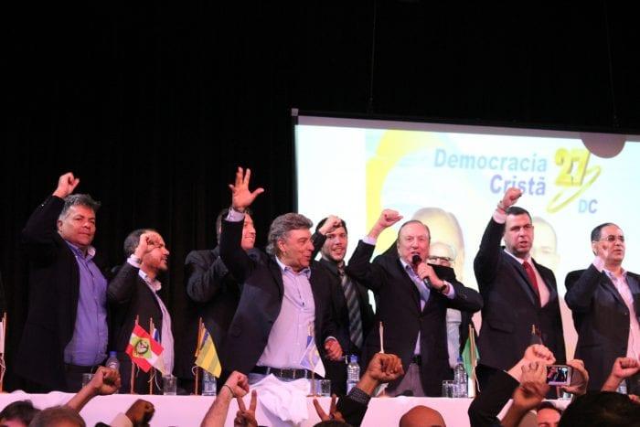 Convenção Nacional do DC lançou Eymael como seu nome para a disputa pela Presidência da República (Bruno Murashima/DC)