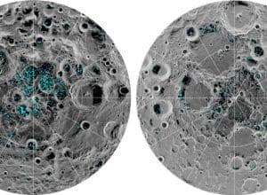 Gelo na Lua - Nasa