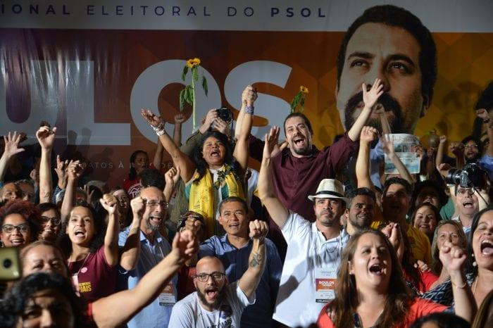 O PSOL confirmou a candidatura de Guilherme Boulos à Presidência da República (Rovena Rosa/Agência Brasil)