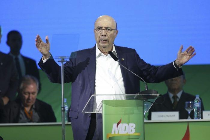 Convenção Nacional do MDB confirmou candidatura de Henrique Meirelles (Antonio Cruz/Agência Brasil)