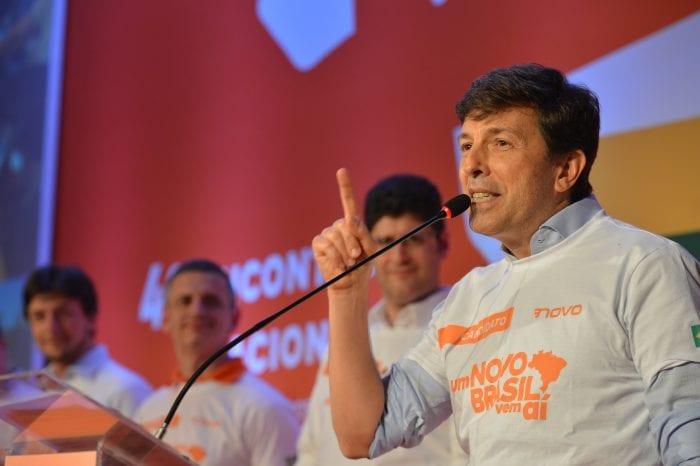 Partido Novo confirma João Amoêdo como candidato a presidente (Rovena Rosa/Agência Brasil)