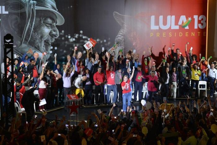 Convenção nacional do PT escolheu Lula para candidato a presidente (Rovena Rosa/Agência Brasil)