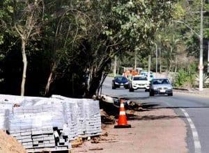 80% do serviço executado, segundo a Prefeitura (Marcelo Martins - PMB)