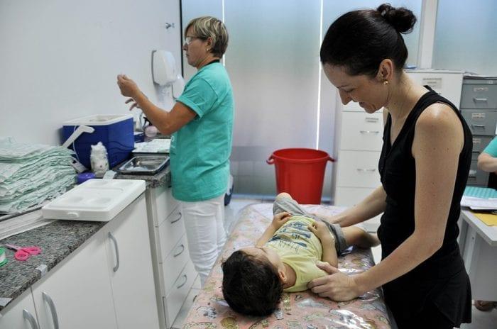 Neste sábado haverá imunização de crianças maiores de um ano a menores de cinco - foto de Eraldo Schnaider - PMB