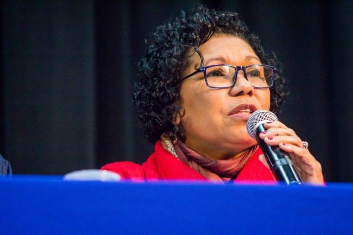 Vera Lúcia é a candidata do PSTU (Romerito Pontes)