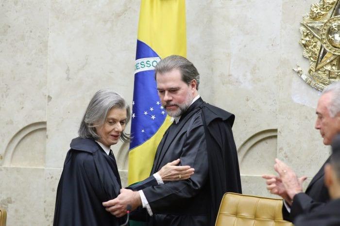 O ministro do Supremo Tribunal Federal (STF) Dias Toffoli toma posse no cargo de presidente da Corte (CNJ/Agência Brasil)