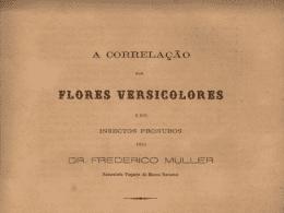 """FRITZ MÜLLER - """"A Correlação das Flores Versicolores e dos Insetos Pronubos,"""" Archivos do Museu Nacional do Rio de Janeiro 2 (1877): 19-23 (museunacional.ufrj.br)."""
