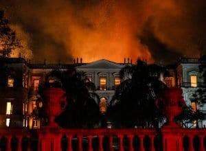 Incêndio de proporções incalculáveis atingiu o Museu Nacional do Rio de Janeiro (Agência Brasil/Tânia Rêgo)