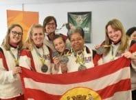 Blumenau assumiu a liderança no quadro de pontuação (Prefeitura de Blumenau/FMD)