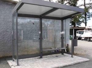 Novos abrigos de ônibus de Blumenau (Marcelo Martins - PMB)