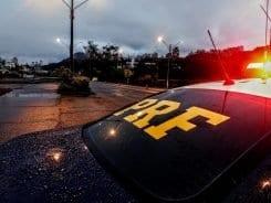 Polícia Rodoviária Federal registrou 108 acidentes em rodovias federais (PRF)