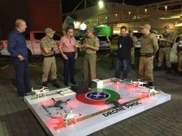 Oktoberfest compra de drone para a Polícia Militar de Blumenau