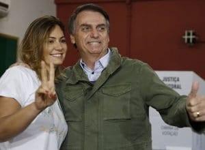 Michelle e Jair Bolsonaro (Tânia Regô/Agência Brasil/Agência Brasil)