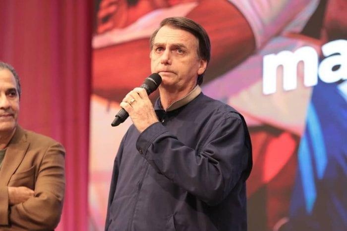 Jair Bolsonaro na Assembleia de Deus Vitória em Cristo