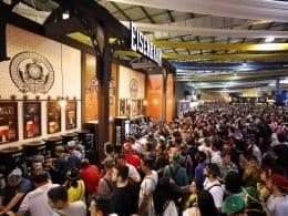 O número de visitantes foi de 71.142 no sábado (Clio Luconi Fotografias)