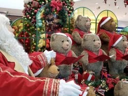 Papel Noel chega ao Norte Shopping e Neumarkt
