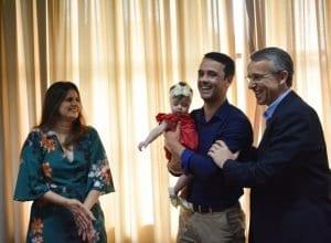 Vereador Marcos da Rosa assume interinamente a Prefeitura (Michele Lamin - PMB)