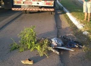 Motorista responsável pelo acidente fugiu do local (Belmiro Avancini)