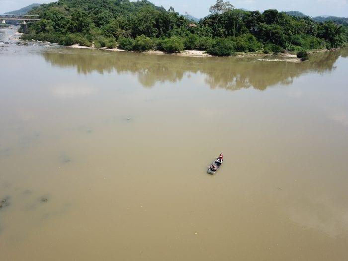 Corpo é encontrado no Rio Itajaí-Açú em Blumenau (Soldado Valmir Martins - CBM)