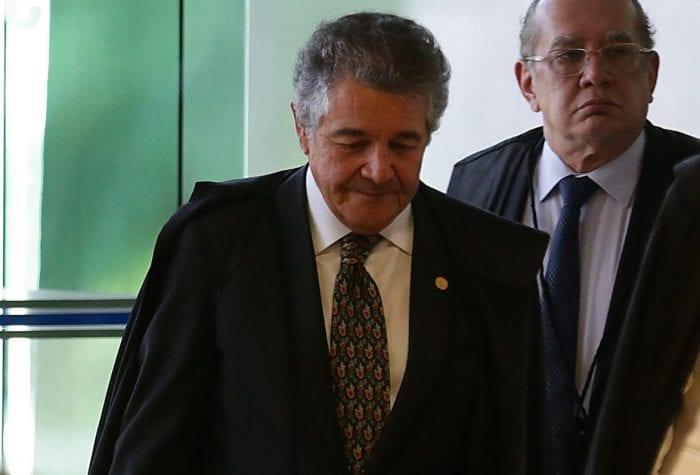 Ministros Marco Aurélio (Antonio Cruz/Agência Brasil)