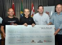 Prefeito Mário Hildebrandt repassa R$ 363 mil para fundo de políticas sobre drogas (Eraldo Schnaider - PMB)