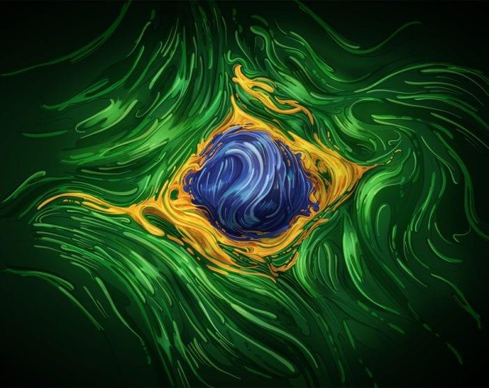 Ilustração da Bandeira do Brasil (Estúdio Romeu & Julieta)