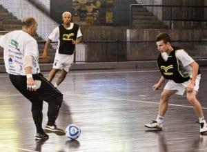 Blumenau Futsal segue treinando visando temporada 2019 - foto de Sidnei Batista
