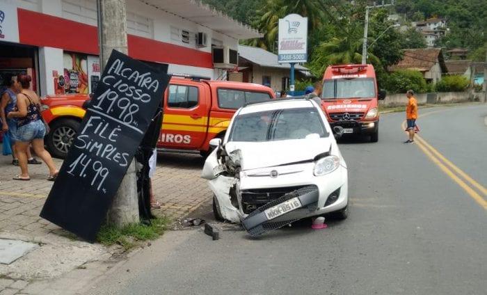 Morre vítima de acidente na Rua Ruy Barbosa - foto de Cristiano Silva - Menina FM