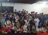 Alunos do projeto Tribos de Davi