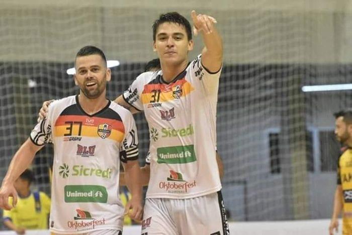 Blumenau Futsal - foto de Sidnei Batista