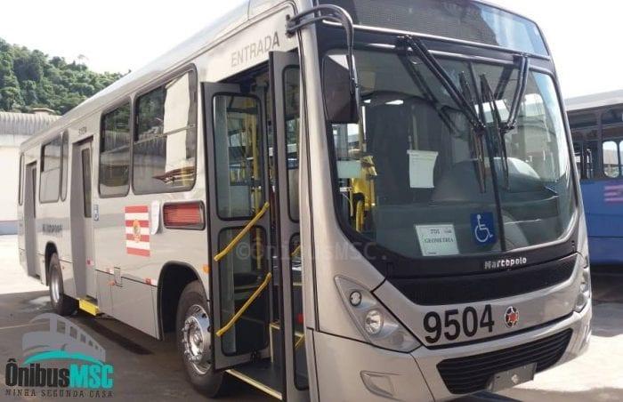 Ônibus modelo Torino é o mais utilizado em Blumenau - foto Ônibus MSC